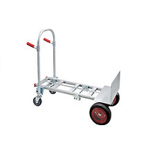 Convertible Hand Trucks 4 wheels  | Wholesale Safety Labels