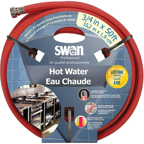 Swan® Hot Water Rubber Hoses