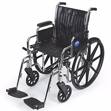 Medline Excel 2000 Deluxe Wheelchairs | Wholesale Safety Labels