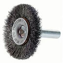 "Osborn® Crimped wire wheel brush with 1/4"" shank"