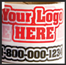 Custom Printed Shipping Tape with Logo | Wholesale Safety Labels