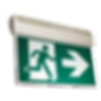 EDGELIT Running Man LED Exit Signs   Wholesale Safety Labels