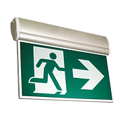 EDGELIT Running Man LED Exit Signs | Wholesale Safety Labels