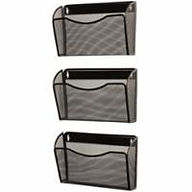 Rolodex® Mesh 3-Pack Hanging Wall Files
