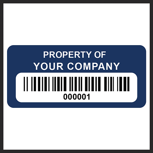 Property ID Asset Tags | Ontario | Canada | Wholesale Safety Labels