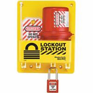 Master Lock Compact Lockout Stations