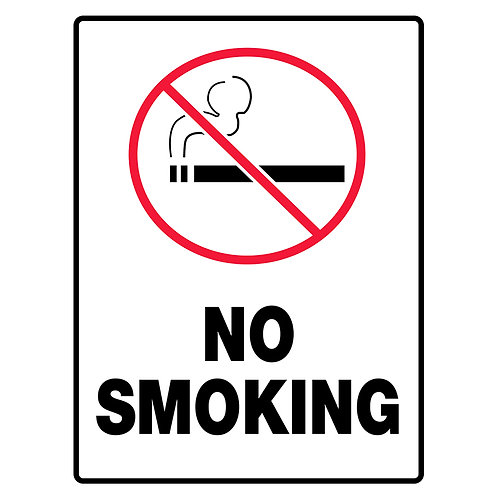 Economy Construction Signs:  No Smoking | Wholesale Safety Labels