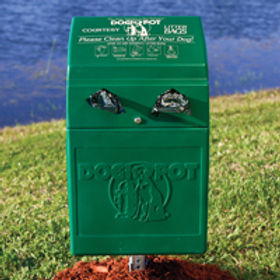 POLY DOGIPOT®DOGVALET®- FOREST GREEN