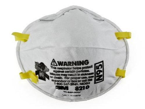 3M 8210N95 Particulate Respirators
