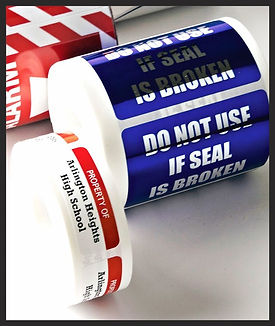 Tamper Evident Labels - Security Labels  | Wholesale Safety Labels
