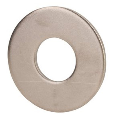 """3/8"""" x 1.000"""" OD Grade 18-8 Stainless Steel Large OD Washer 100/Box"""