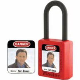 Master Lock Padlock Identification Labels