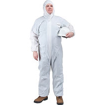 Microporous Disposable Coveralls | Wholesale Safety Labels