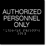 Engraved Premium Braille Building Signs | Wholesale Safety Labels