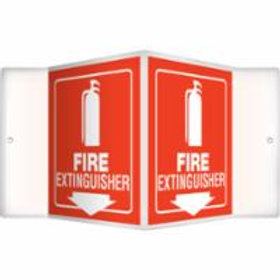 Fire Protection - Fire Extinguisher Signs