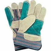 Zenith Double Palm Split Cowhide Fitters Glove