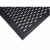 Scraper Mats - Slotted or Raised Solid Rubber