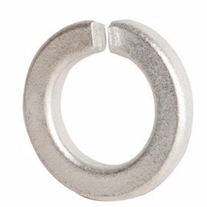"""Fasteners - 1/2"""" Zinc Finish Medium Split Lock Washer 100/Box"""