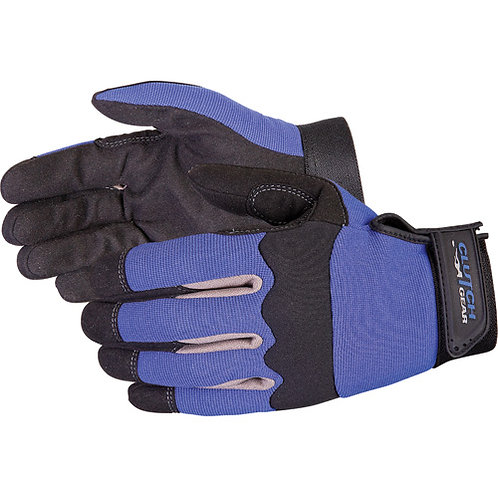 Superior Clutch Gear® Blue Mechanics Gloves
