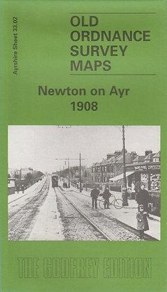 Old Ordnance Survey Maps - Newton on Ayr 1908, 9781841510484