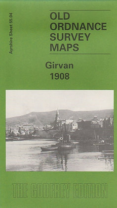 Old Ordnance Survey Maps - Girvan 1908, 9781841511443