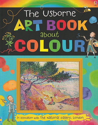 The Usborne Art Book about Colour, Rosie Dickins, The National Gallery London, 9781409577652