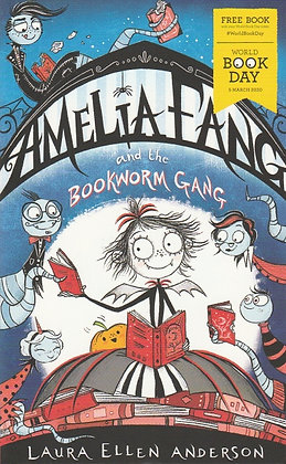 WBD 2020 - Amelia Fang and the Bookworm Gang, Laura Ellen Anderson, 9781405297639, front