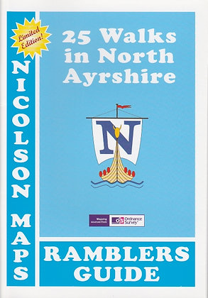 25 Walks in North Ayrshire: Ramblers Guide, 9781860972850