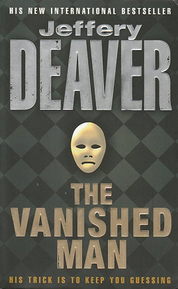 The Vanished Man, Jeffery Deaver, 9780340734049
