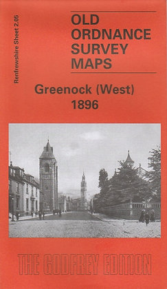 Old Ordnance Survey Maps - Greenock West 1896, 9781841513744