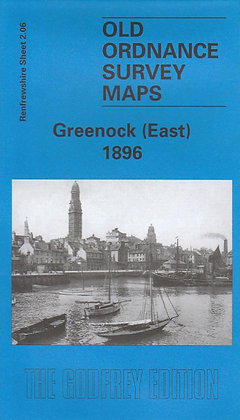 Old Ordnance Survey Maps - Greenock East 1896, 9781841513751