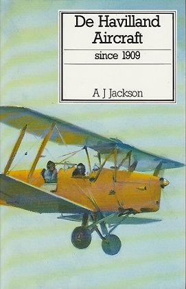 De Havilland Aircraft Since 1909, A J Jackson, 085177802X