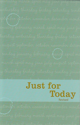 Just for Today: Daily Meditations for Recovering Addicts (Revised), 9781557761514