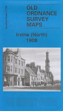 Old Ordnance Survey Maps - Irvine North 1908, 9781847842176