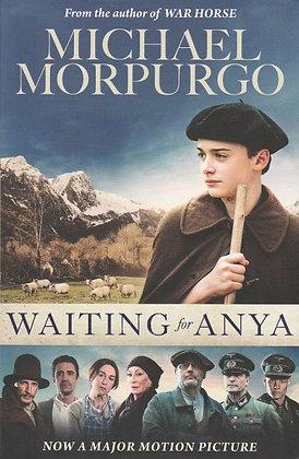 Waiting for Anya, Michael Morpurgo, front cover, 9781405294034