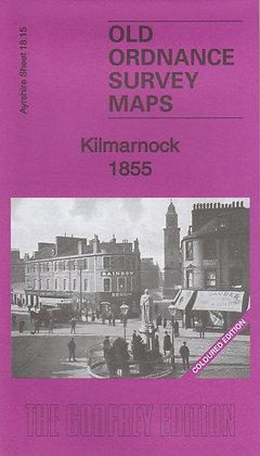Old Ordnance Survey Maps - Kilmarnock 1855 (Coloured Edition), 9781847845900
