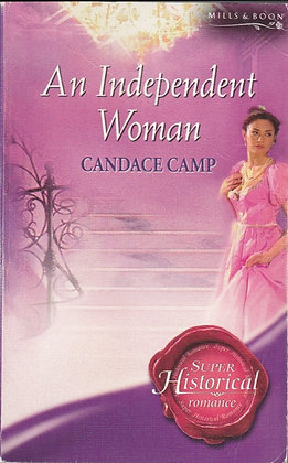 An Independent Woman, Candace Camp, HS979, 9780263855333