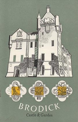 Brodick Castle & Garden, NTS brochure 1969