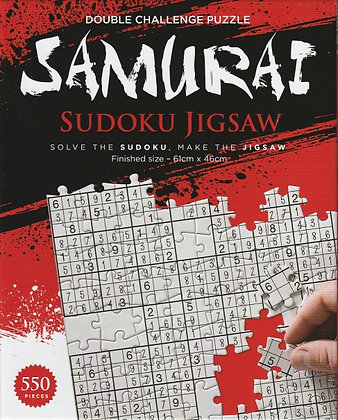 550-piece jigsaw: Samurai Sudoku, 5060515913801, front of box