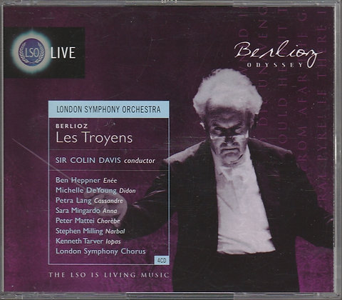 Berlioz, Les Troyens, London Symphony Orchestra, Sir Colin Davis, 5030820019772