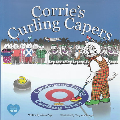Corrie's Curling Capers, Alison Page, 9781999926526