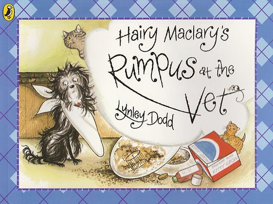 Hairy Maclary's Rumpus at the Vet, Lynley Dodd, 9781856130783