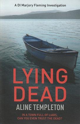 Lying Dead, Aline Templeton, 9780340922279