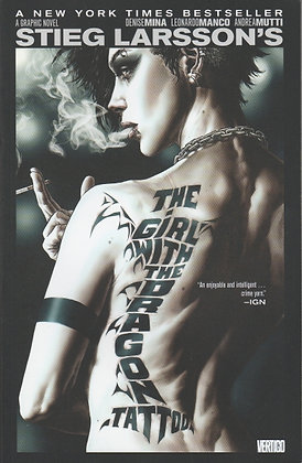 The Girl with the Dragon Tattoo: A Graphic Novel, Stieg Larsson, Adapted by Denise Mina, 9781401242862