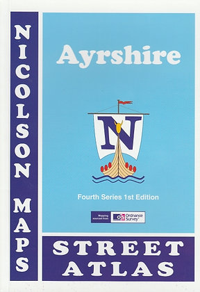 Ayrshire Street Atlas, Nicolson Maps, 9781860973598