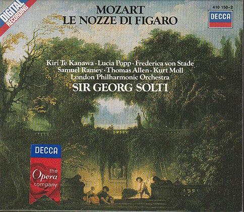 Mozart, Le Nozze di Figaro, London Philharmonic Orchestra, Sir Georg Salti, 028941015020