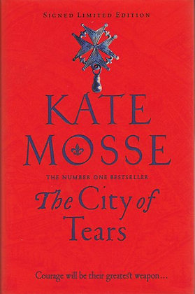 City of Tears (The), Kate Mosse, front cover, 9781509806874