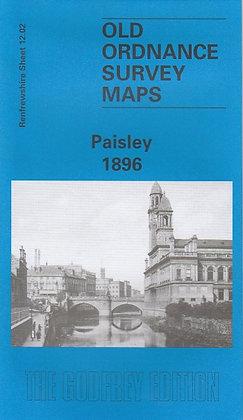 Old Ordnance Survey Maps - Paisley 1896, 9780850548754