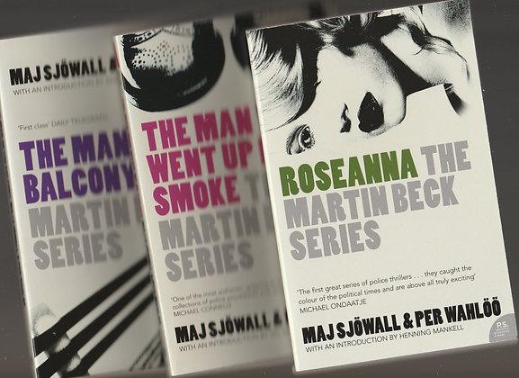 Martin Beck series, Set of 3 books, Maj Sjowall & Per Wahloo, 9780007944545, 9780007944569, 978007944552