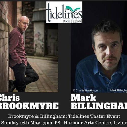 Brookmyre & Billingham: Tidelines Taster Event